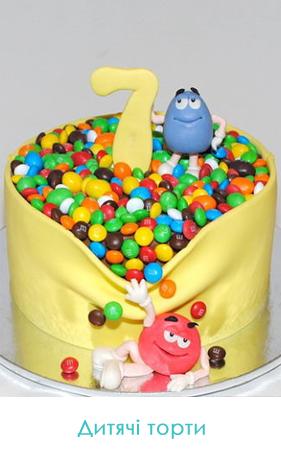 фото дитячі торти