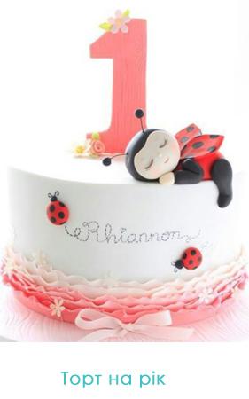 торт на рік фото