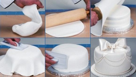 Как мастики сделать на торт