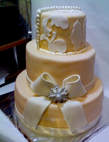 Види весільних тортів