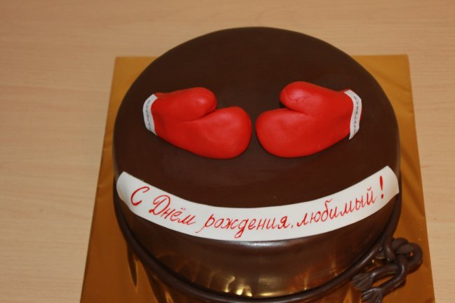 Шоколадний торт на замовлення