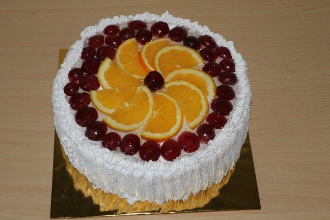 фруктовий торт київ