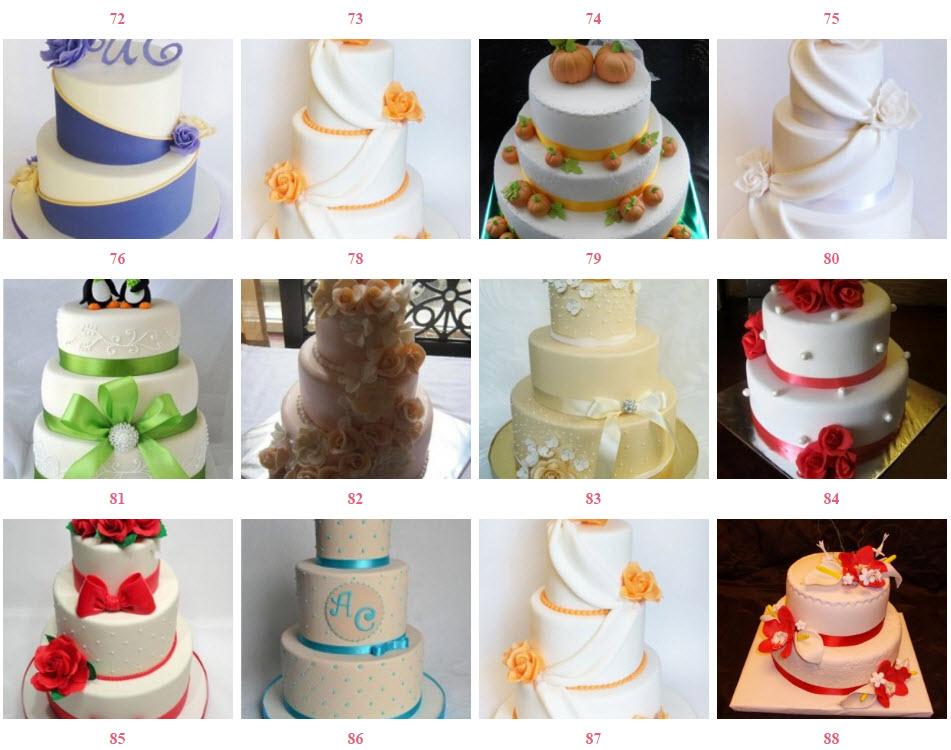 весільні десерти