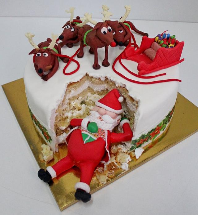 Заказать новогодний торт