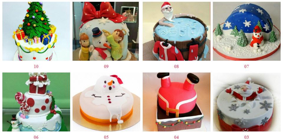 Торт на Новий Рік під замовлення