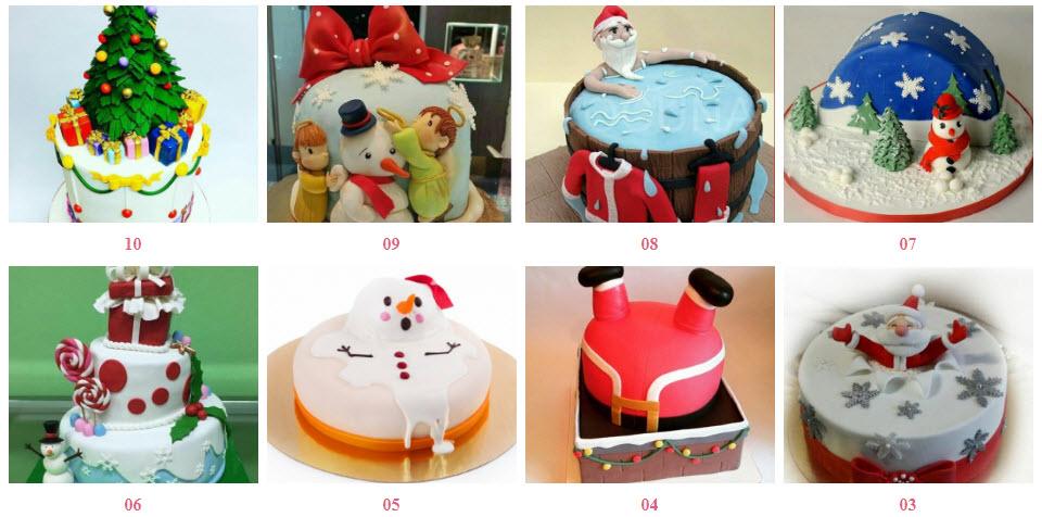 новорічний торт на замовлення