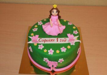 Торт на годик ребенку