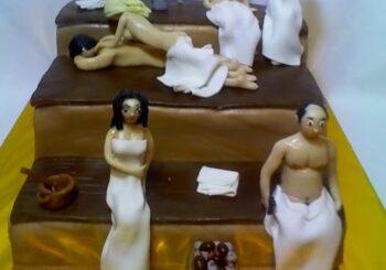 Торт на девичник