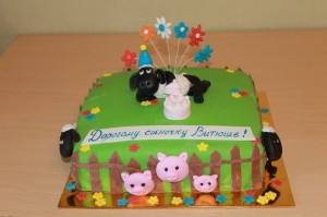 Детские торты, фото 117