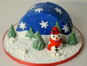 Торт на Новий Рік, фото 07
