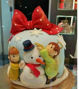 Торт на Новий Рік, фото 09