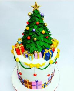Торт на Новий Рік, фото 10