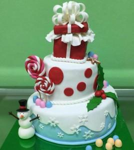 Торт на Новий Рік, фото 06