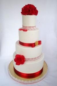 Свадебные торты, фото 61