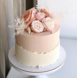 Свадебные торты, фото 0015