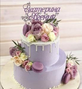Свадебные торты, фото 0016