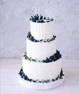 Свадебные торты, фото 0017