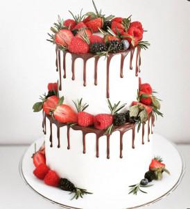 Свадебные торты, фото 0019