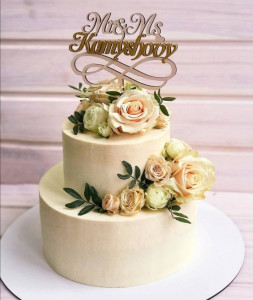 Свадебные торты, фото 0022