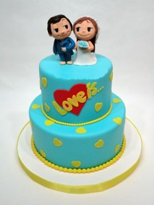 Свадебные торты, фото 91