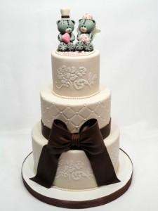 Свадебные торты, фото 93