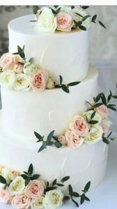 Свадебные торты, фото 0044