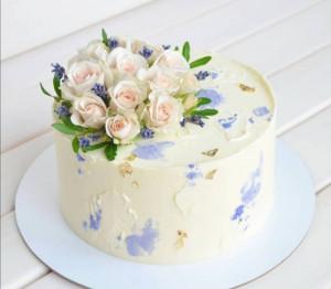 Свадебные торты, фото 005