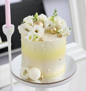 Свадебные торты, фото 006