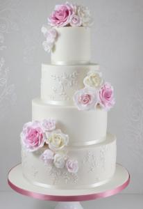 Свадебные торты, фото 06