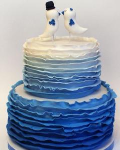 Свадебные торты, фото 28