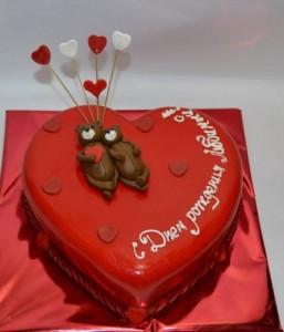 Торт сердце, фото 05