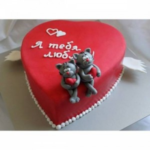 Торт сердце, фото 06