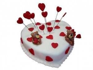 Торт сердце, фото 08