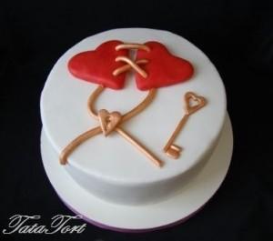 Торт сердце, фото 11