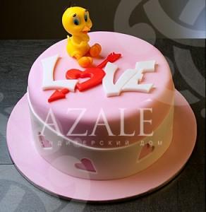 Торт сердце, фото 21
