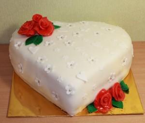 Торт сердце, фото 25