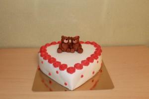 Торт сердце, фото 26