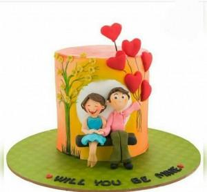 Торт сердце, фото 34